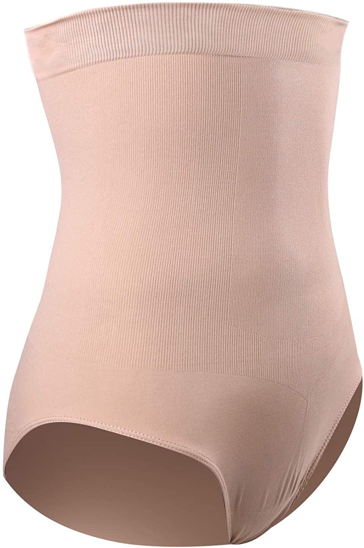 DREAM SLIM Women's High-Waist Seamless Body Shaper Briefs Firm Tummy Control Slimming Shapewear Panties Girdle Underwear