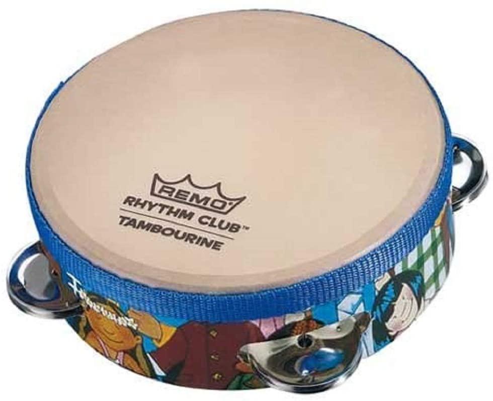"""Remo RH-2106-00 Rhythm Club Tambourine - Rhythm, 6"""""""