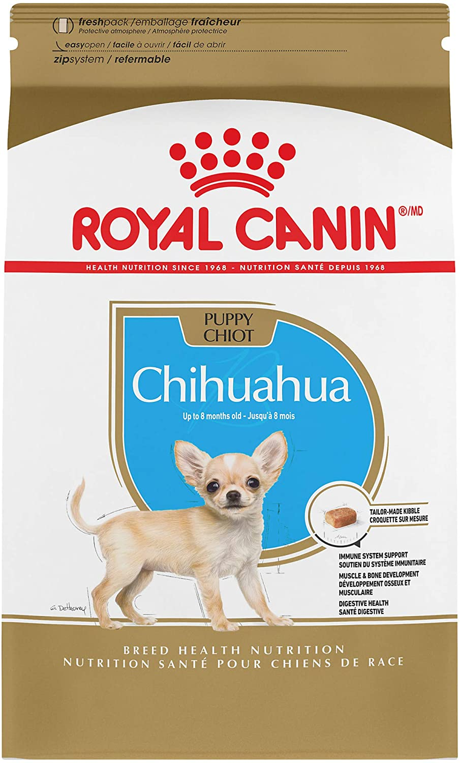 Royal Canin Chihuahua Puppy Breed Specific Dry Dog Food, 2.5 lb. bag