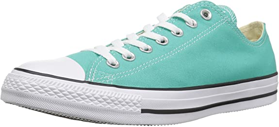 Converse Unisex-Adult Chuck Taylor All Star 2018 Seasonal Low Top Sneaker, Pure Teal, 6.5