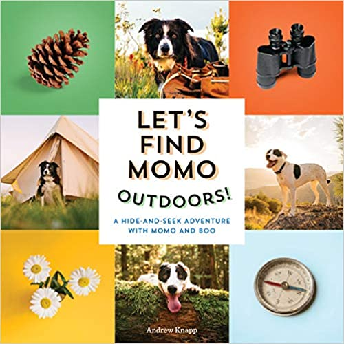 Let's Find Momo Outdoors!: A Hide-and-Seek Adventure with Momo and Boo Board book – May 25, 2021