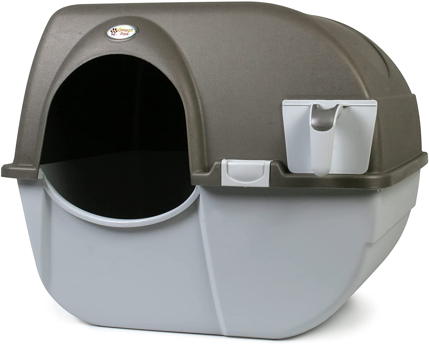 Omega Paw NRA15 Self Cleaning Litter Box Regular Size