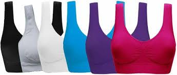 Women's Comfort Workout Sports Bra Low-Impact Activity Sleep Bras